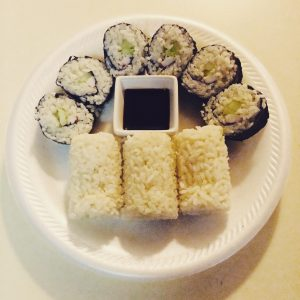 sushi-attempt